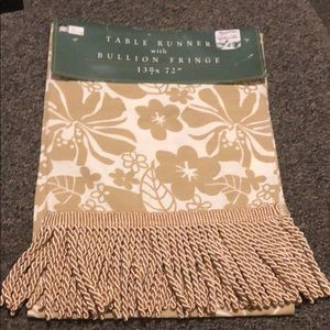 New with tag table runner